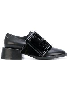 туфли с объемной пряжкой Mm6 Maison Margiela