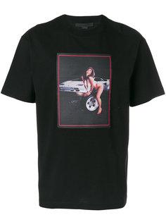 футболка с принтом женщины Alexander Wang