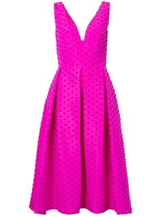 платье с узором в горох Lela Rose