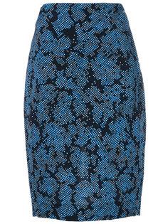 жаккардовая юбка  Diane Von Furstenberg