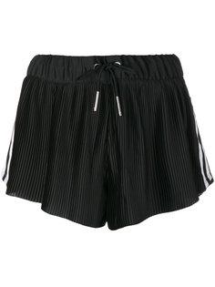плиссированные шорты с тремя полосками Adidas Originals