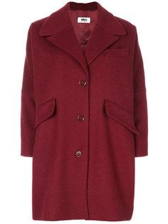 классическое пальто на пуговицах Mm6 Maison Margiela