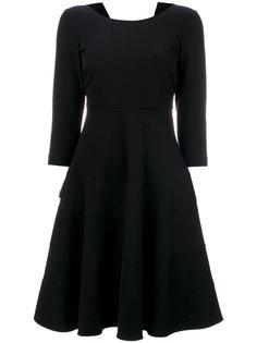 классическое расклешенное платье Twin-Set