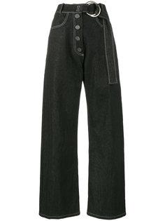 широкие джинсы с завышенной талией Emily Rejina Pyo