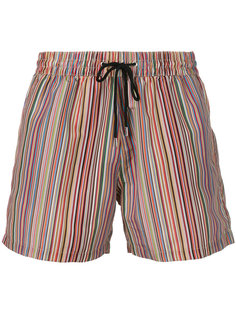 шорты для плавания в полоску  Paul Smith