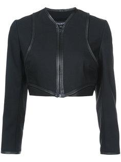укороченная куртка на молнии Narciso Rodriguez