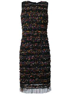 платье шифт с оборками Givenchy