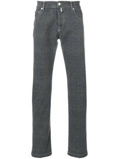джинсы в клетку Kiton