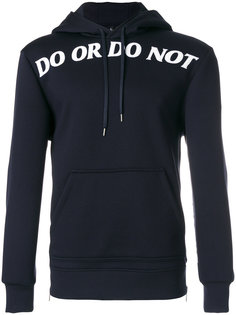 Do or Do Not hoodie Neil Barrett