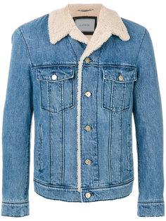 джинсовая куртка Lanvin