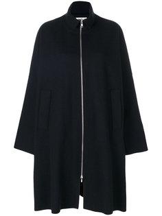 длинное пальто на молнии  Hache