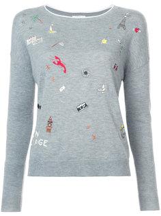 свитер Eloisa с вышивкой Joie
