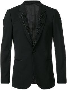 пиджак с декорированными лацканами Paul Smith