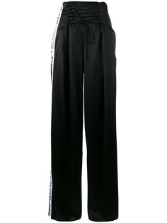 спортивные брюки с полосками Corsetry Off-White