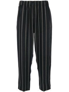 укороченные брюки в полоску  Forte Forte