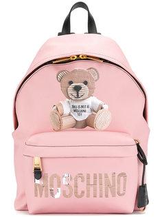 рюкзак с принтом медведя Тедди Moschino