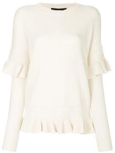 Sydni ruffle sweater Designers Remix