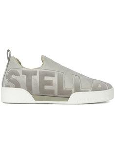 кроссовки-слип-оны с тисненым логотипом Stella McCartney
