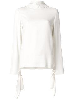 блузка с декоративными завязками Joseph