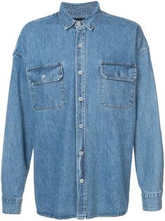 объемная джинсовая рубашка Fear Of God