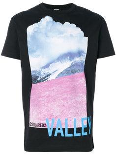 футболка с принтом Valley Dsquared2
