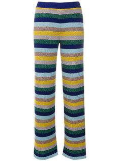 полосатые брюки Missoni