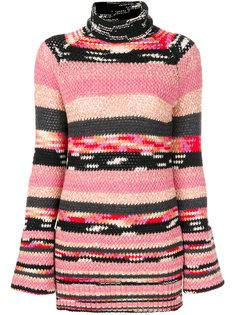 трикотажный свитер-водолазка  Missoni