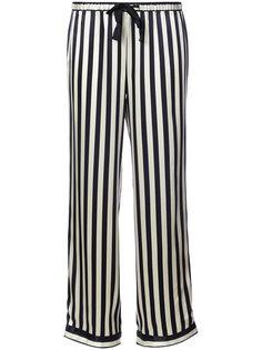 пижамные брюки в полоску  Morgan Lane
