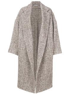 пальто в елочку Dusan