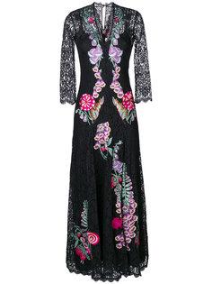 длинное платье Farewell Temperley London
