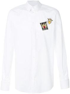 рубашка с аппликацией Prince  Dolce & Gabbana