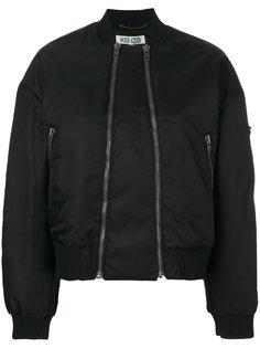 куртка-бомбер с двумя молниями  Kenzo