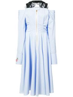 платье с открытыми плечами Natasha Zinko