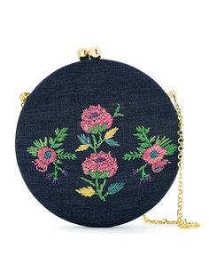 embroidered shoulder bag Serpui