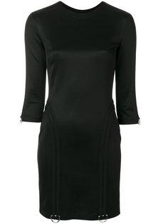 round-neck short dress Versus