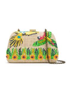 straw shoulder bag Serpui