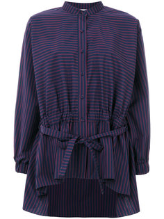 striped drawstring shirt Pringle Of Scotland