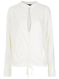 cut out details shirt Andrea Bogosian