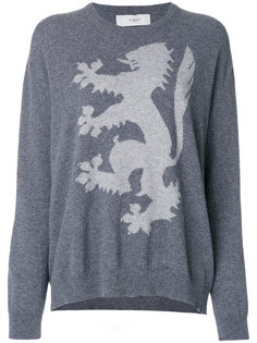 Intarsia Lion jumper  Pringle Of Scotland