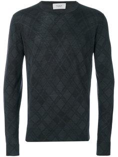 свитер с узором в клетку Pringle Of Scotland