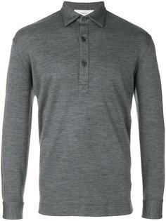 long sleeved polo shirt Pringle Of Scotland