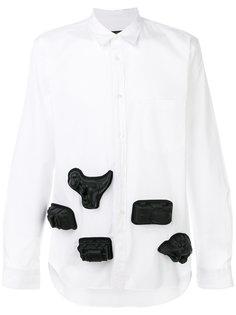 рубашка с 3D аппликацией Comme Des Garçons Homme Plus