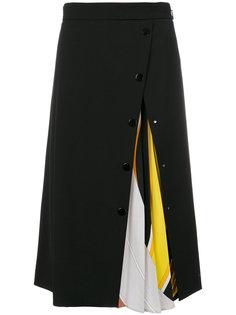 юбка плиссе  Emilio Pucci