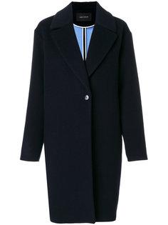 однобортное пальто  Cédric Charlier
