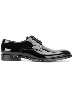 лакированные туфли с заклепками Jimmy Choo