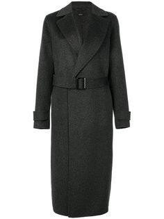 классическое пальто с поясом  Joseph