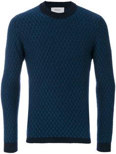 свитер с простроченной отделкой Pringle Of Scotland
