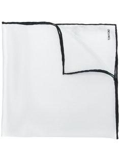 нагрудный платок с контрастными краями Tom Ford