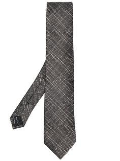 галстук с узором решетки Tom Ford