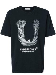 футболка с принтом логотипа Undercover
